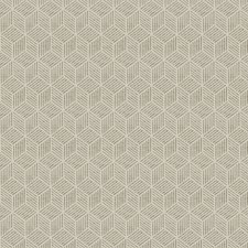 Flax Geometric Decorator Fabric by Fabricut