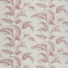 Dusty Rose Leaves Decorator Fabric by Trend