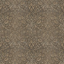Moonlight Alloy Damask Decorator Fabric by Vervain