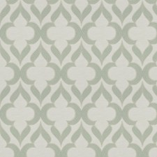 Aqua Lattice Decorator Fabric by Trend