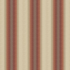 Claret Stripes Decorator Fabric by Vervain