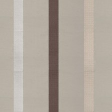 Beige/Brown/White Stripes Decorator Fabric by Kravet