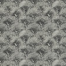 Charcoal Leaves Decorator Fabric by Fabricut