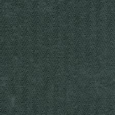 Teal Herringbone Decorator Fabric by Trend