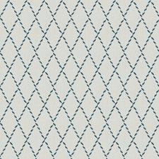 Navy Print Pattern Decorator Fabric by Fabricut