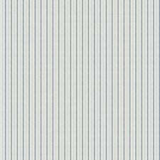 Cobalt Stripes Decorator Fabric by Fabricut