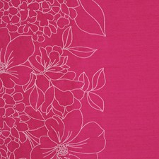 Fuschia Decorator Fabric by RM Coco
