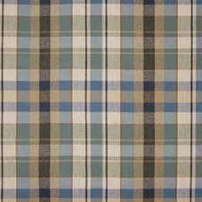 Cloud Plaid Check Decorator Fabric by Greenhouse