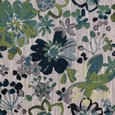 Blue/Green Transitional Decorator Fabric by JF