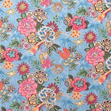 Bluebell Traditional Decorator Fabric by Pindler