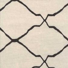 Grey Lattice Decorator Fabric by Andrew Martin