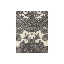 Grey Paisley Decorator Fabric by Andrew Martin