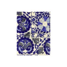 Cobalt Ethnic Decorator Fabric by Andrew Martin