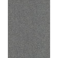 Charcoal Herringbone Decorator Fabric by Andrew Martin