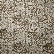 Cognac Ethnic Decorator Fabric by Pindler