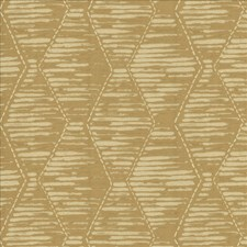 Gold Leaf Decorator Fabric by Kasmir