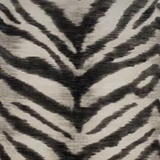 Black/White Skins Decorator Fabric by Kravet