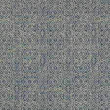 Indigo/Grey Ethnic Decorator Fabric by Kravet