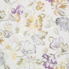 Grey/Purple Decorator Fabric by Scalamandre