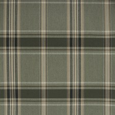 Thyme Plaid Check Decorator Fabric by Greenhouse