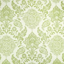 Green Tea Medallion Decorator Fabric by Greenhouse