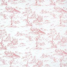 Poppy Toile Decorator Fabric by Greenhouse