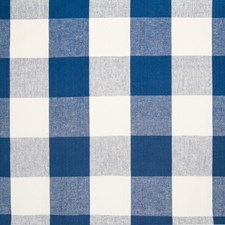 Dark Denim Plaid Check Decorator Fabric by Greenhouse