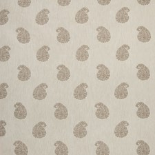 Natural Paisley Decorator Fabric by Greenhouse