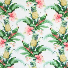 Lush Green Tropical Decorator Fabric by Greenhouse