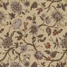 Earth Floral Decorator Fabric by Greenhouse