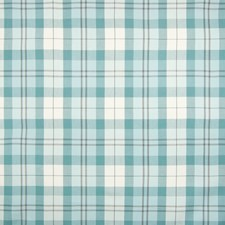 Mist Plaid Check Decorator Fabric by Greenhouse