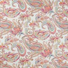 Fuchsia Paisley Decorator Fabric by Greenhouse