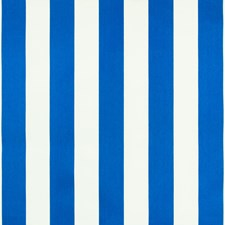 Cabana Blue Stripe Decorator Fabric by Greenhouse