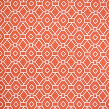 Spice Geometric Decorator Fabric by Greenhouse