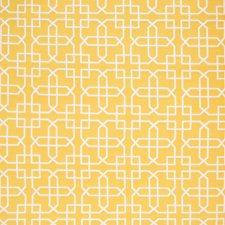 Golden Lattice Decorator Fabric by Greenhouse