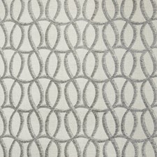 Graphite Geometric Decorator Fabric by Greenhouse