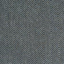 Cornflower Chevron Decorator Fabric by Greenhouse