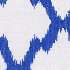 Blue Decorator Fabric by Scalamandre