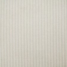 Oyster Stripe Decorator Fabric by Pindler