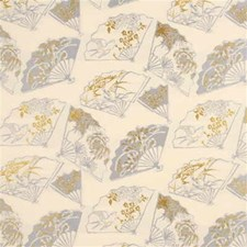 Silver Fox Whimsical Decorator Fabric by G P & J Baker