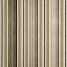 Natural Stripes Decorator Fabric by G P & J Baker