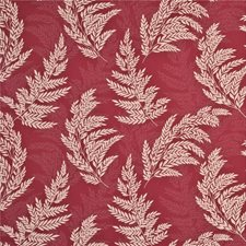 Red/Oatmeal Decorator Fabric by G P & J Baker