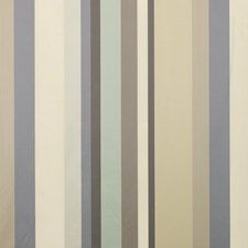Silver/Ivory/Stone Stripes Decorator Fabric by G P & J Baker