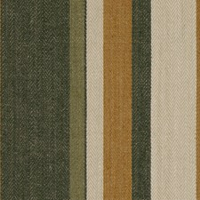 Gold/Sepia Stripes Decorator Fabric by G P & J Baker