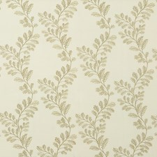 Sage Embroidery Decorator Fabric by G P & J Baker