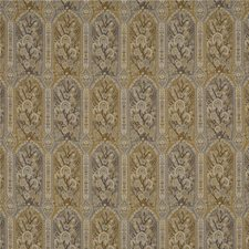 Grey/Mustard Weave Decorator Fabric by G P & J Baker