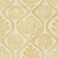 Yellow Botanical Decorator Fabric by Lee Jofa