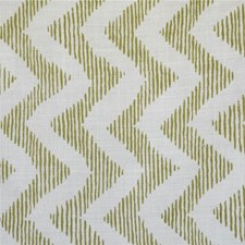 Green/Oyster Print Decorator Fabric by Lee Jofa