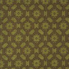 Aubergine/Lm Geometric Decorator Fabric by Lee Jofa