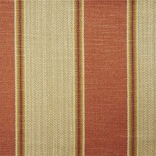 Orange Stripes Decorator Fabric by Lee Jofa
